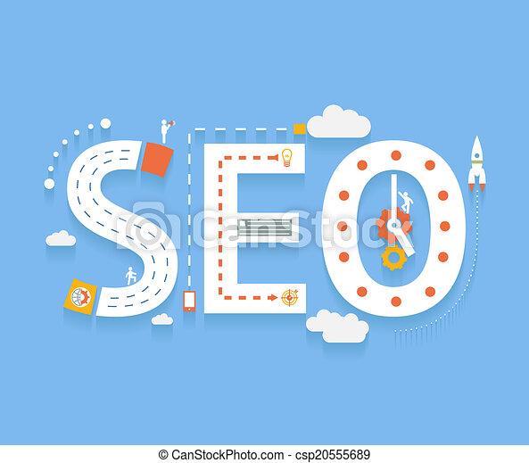 processus, seo, optimization, recherche, internet - csp20555689