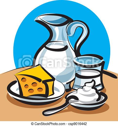 prodotti, latte - csp9016442