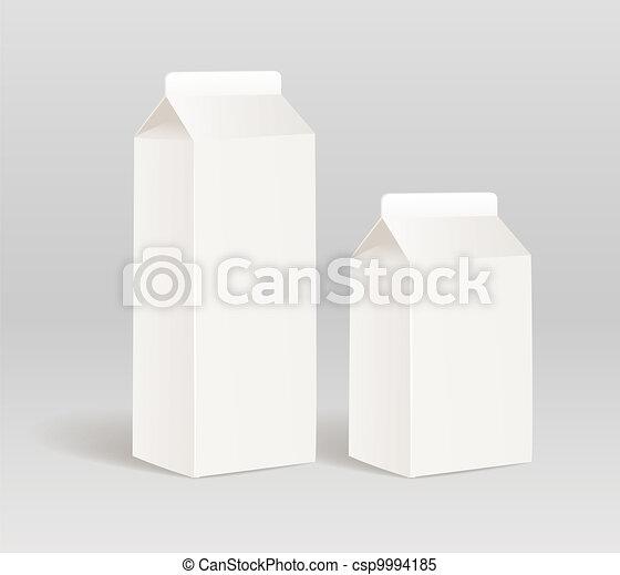 prodotto, carta, contenitore, latte - csp9994185