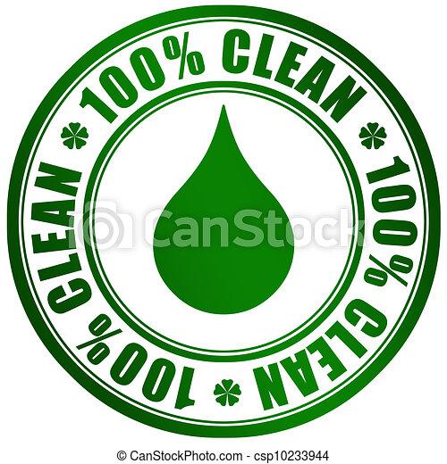 prodotto, simbolo, pulito - csp10233944