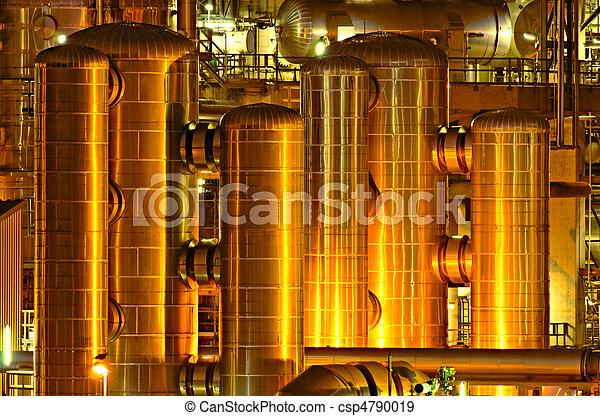 produção química, facilidade - csp4790019