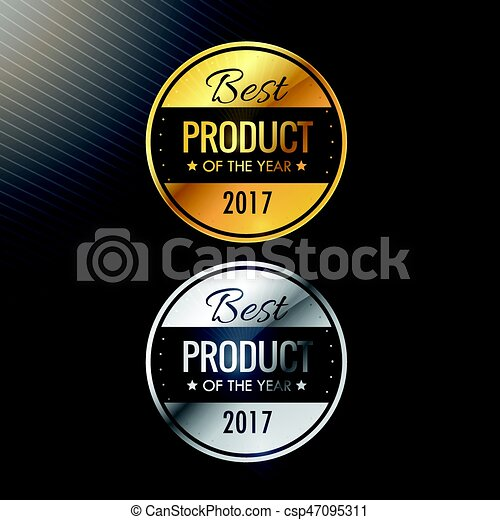 product, goud, kleuren, kentekens, jaar, zilver, best - csp47095311