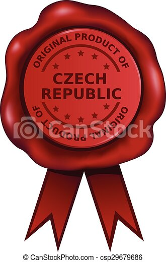 Product Of The Czech Republic  - csp29679686