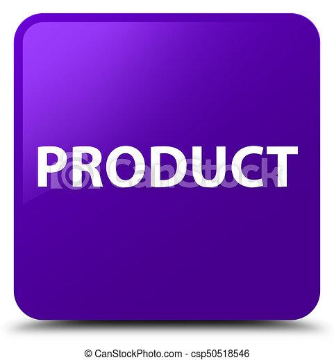 Product purple square button - csp50518546