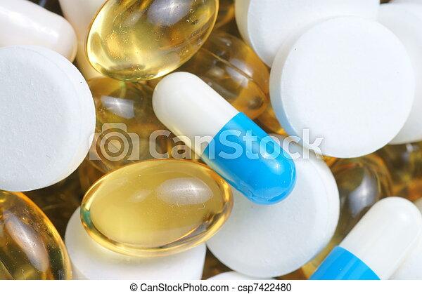 Farmacéuticas macro - csp7422480