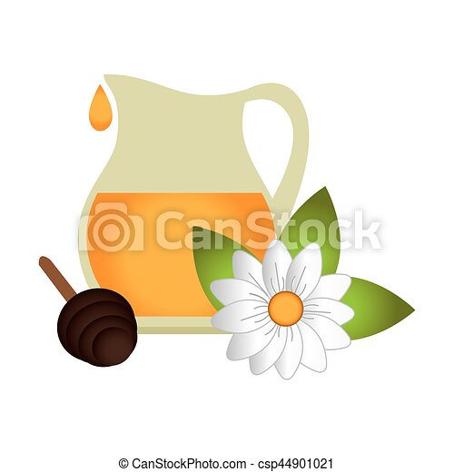 produto, abelha, natural, ícone - csp44901021