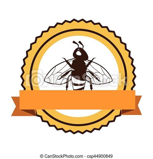 produto, abelha, natural, ícone - csp44900849