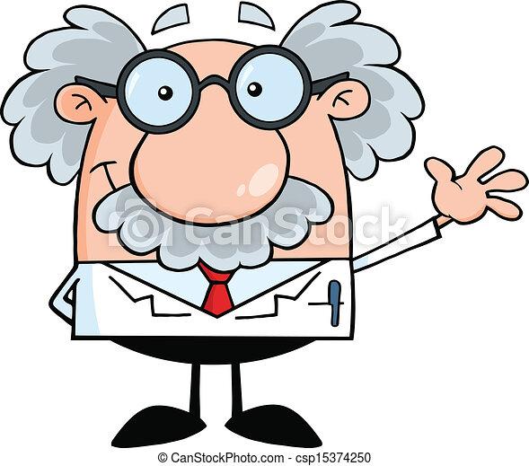 prof, scientifique, ou, sourire - csp15374250