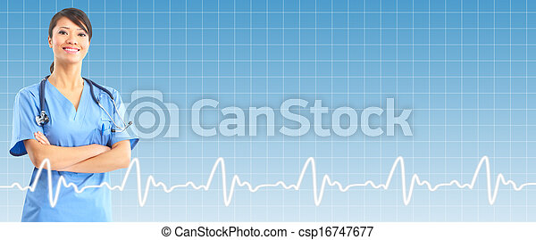profesional, encima, doctor, fondo., atención sanitaria - csp16747677