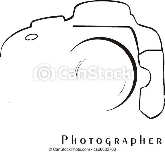 profesional, fotógrafo - csp6682760