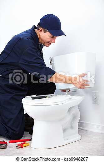 profesional, plumber. - csp9948207