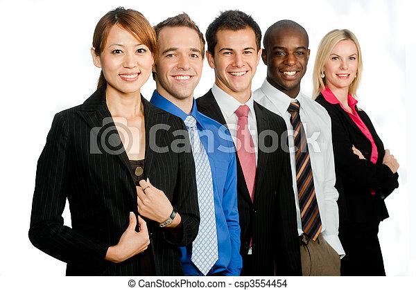 profesionales, empresa / negocio - csp3554454