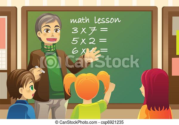 Profesor en clase - csp6921235