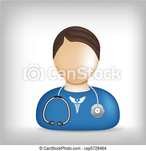 Profession icon - medic - csp5728464