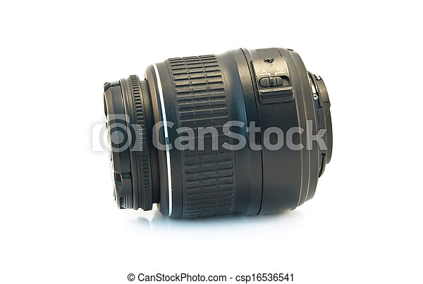 professional camera lens - csp16536541