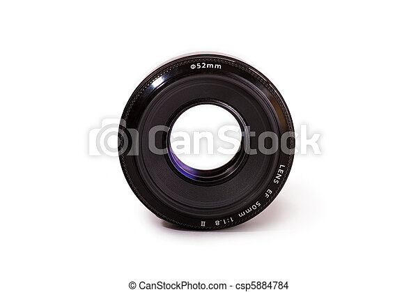 Professional Camera lens - csp5884784