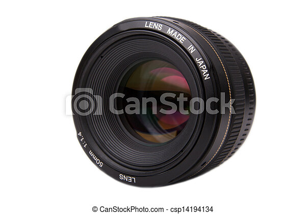 Professional Camera Lens - csp14194134