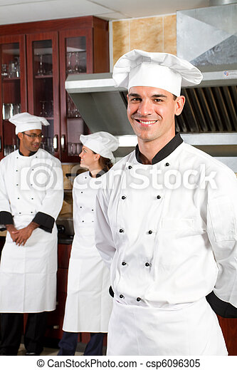 professional chefs in - csp6096305