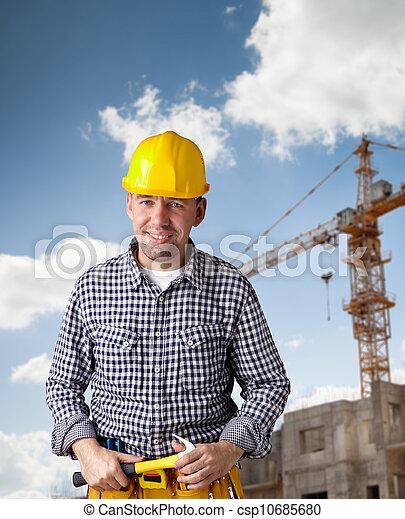 professional construction - csp10685680