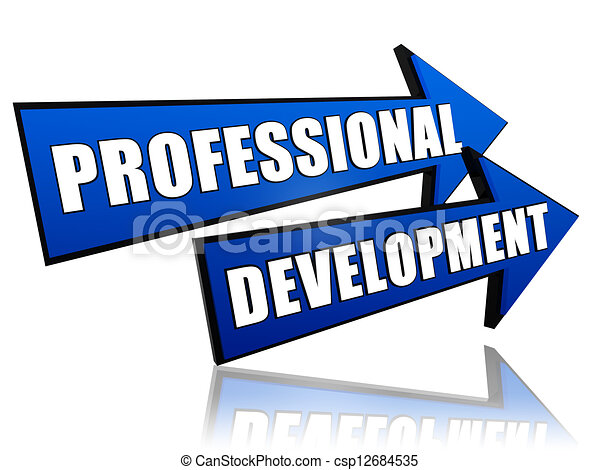 professional development in arrows - csp12684535