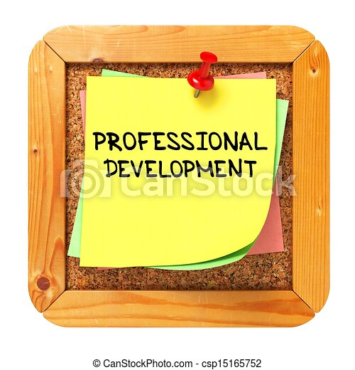 professional development sticker on bulletin professional rh canstockphoto com continuing professional development clipart professional development day clipart
