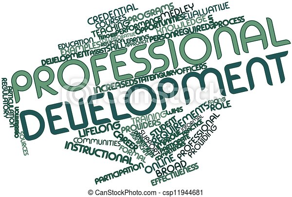 abstract word cloud for professional development with stock rh canstockphoto com continuing professional development clipart professional development clip art free