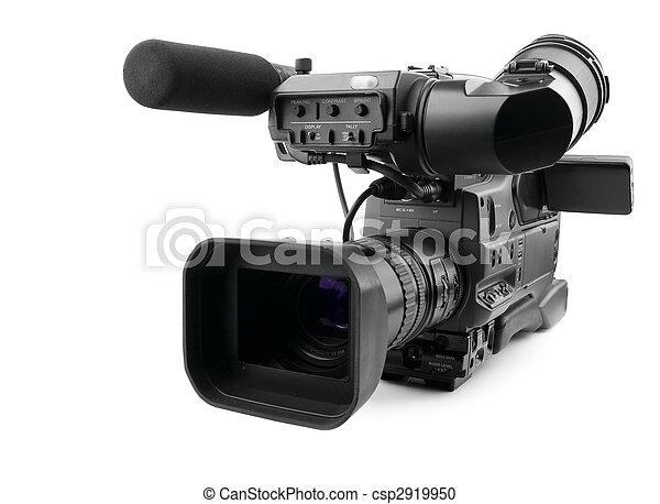 Professional digital video camera - csp2919950