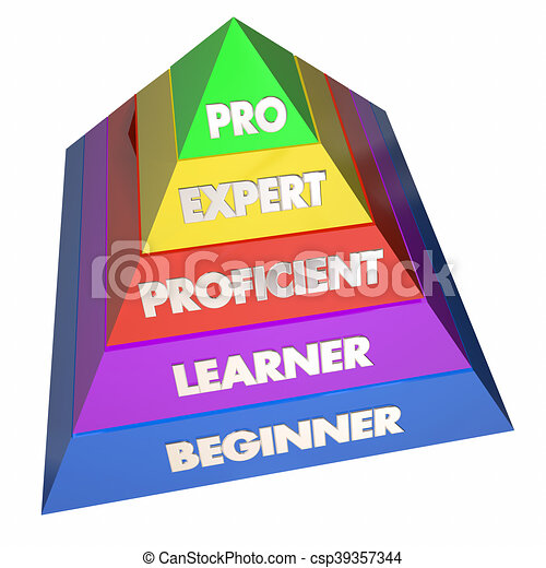 Professional expert learner experience pyramid 3d for Home design 3d professional italiano gratis
