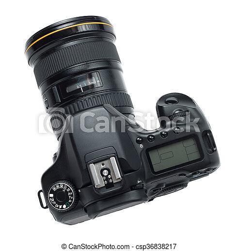 Professional photo camera - csp36838217