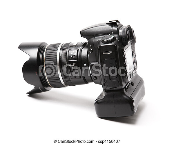 Professional photo camera - csp4158407