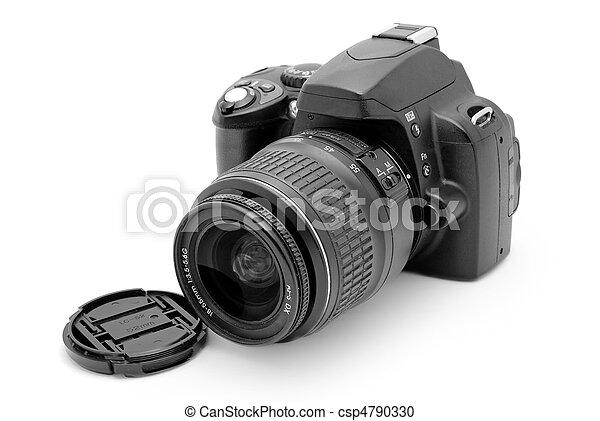 professional photo camera - csp4790330