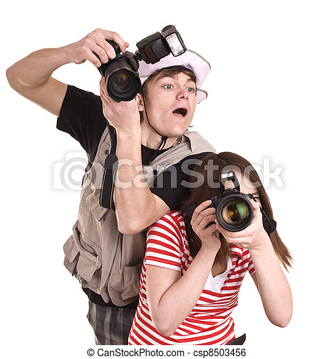 Professional photographer. - csp8503456