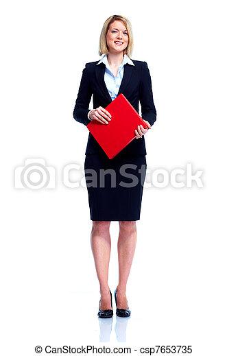 professionale, woman., affari - csp7653735