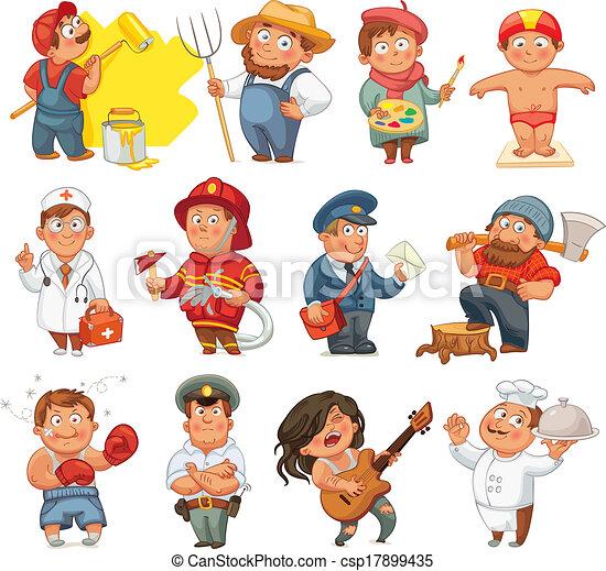 Professions - csp17899435