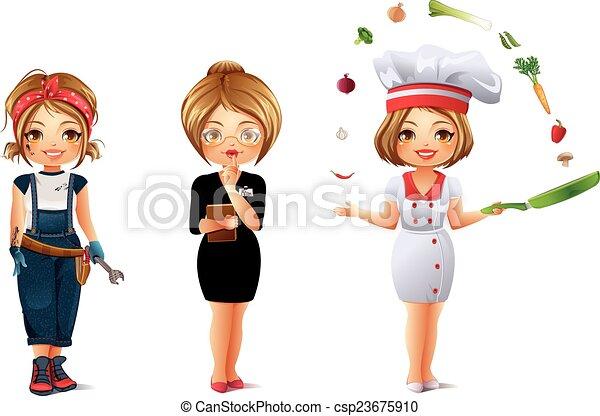 Professions Set 2 - csp23675910