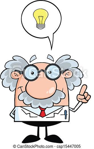 professor, bom, idéia - csp15447005