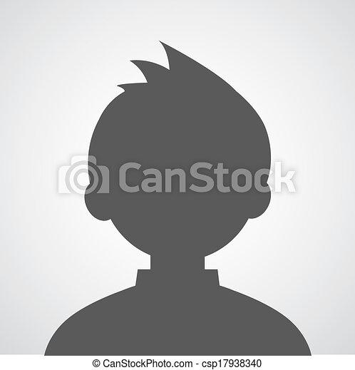 Ein Avatar-Profilbild - csp17938340