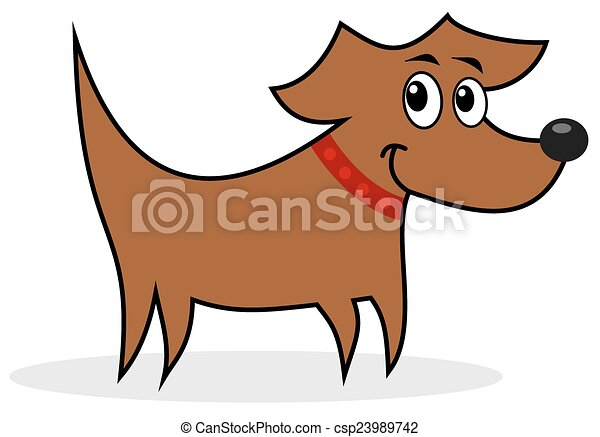 profil, hund - csp23989742