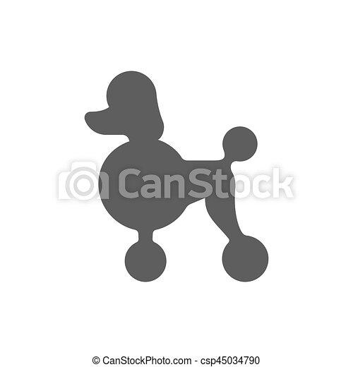 Profil Silhouette Caniche
