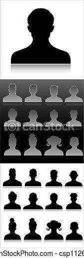Profile Symbols - csp11260653