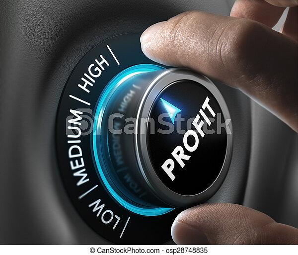 Profit, Finance Concept - csp28748835