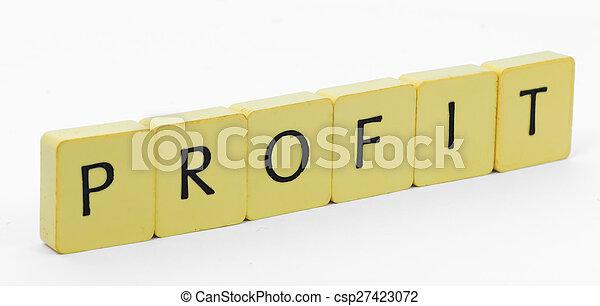 Profit - csp27423072