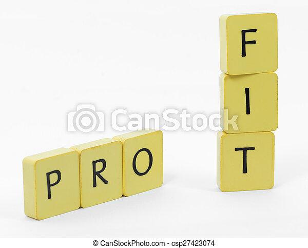 Profit - csp27423074