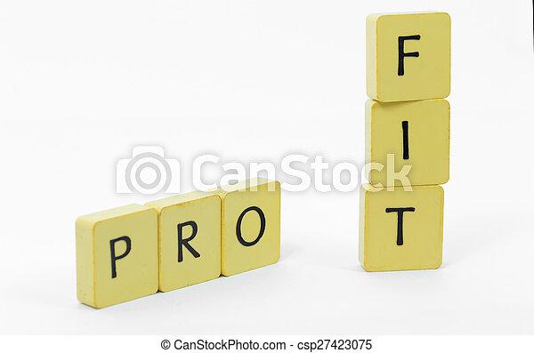 Profit - csp27423075