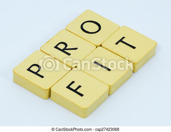 Profit - csp27423068