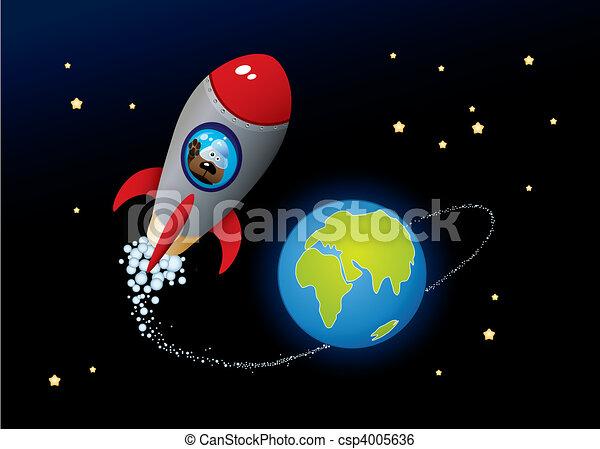 profond, espace - csp4005636