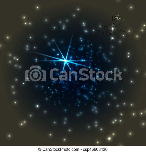 profond, espace - csp46603430