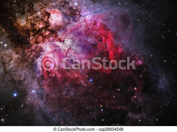 Campo estelar en el espacio profundo - csp26604548