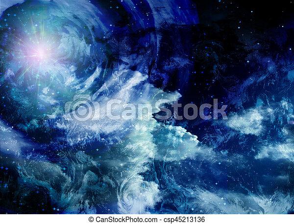 Espacio profundo - csp45213136