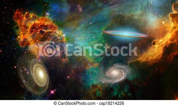Espacio profundo - csp18214226